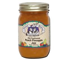 Amish Jam Homemade Peach Pineapple - 18 oz - 2 Jars  - $18.69