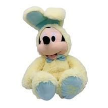 "Disney Mickey Mouse 2019 Yellow Easter Bunny Plush animal 16"" - $13.85"