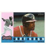 2009 Topps Heritage #697 Garret Anderson Braves (High Series) NM-MT (SP - Short  - $6.00