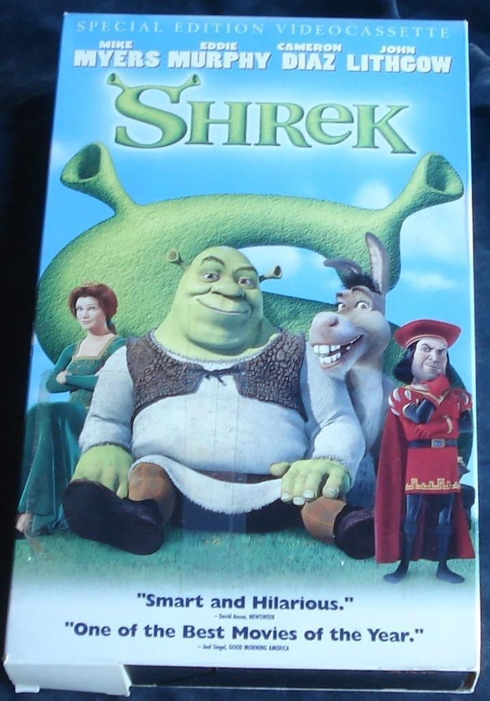 Shrek- Dreamworks Classic - Gently Used VHS Video - VGC SPECIAL EDITION