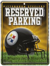 NFL Pittsburgh Steelers Hi-Res Metal Parking Sign - $6.92
