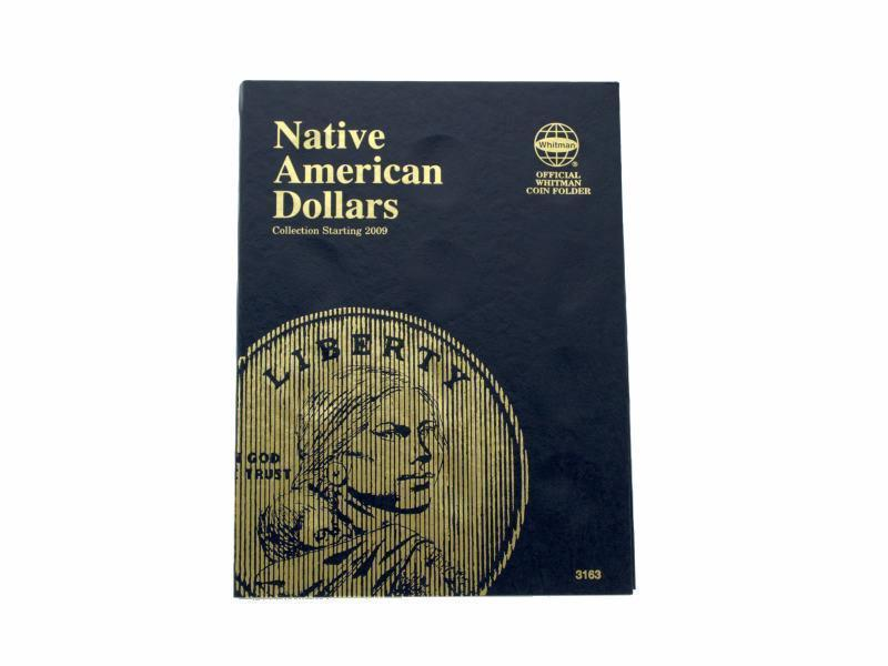 Whitman Coin Folder/Album, Native American Dollar, Starting 2009, P and D