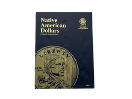 Whitman Coin Folder/Album, Native American Dollar, Starting 2009, P and D  - $5.99