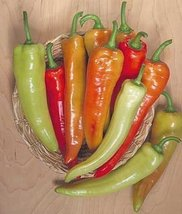 30 Seed of Inferno Hybrid - Hot Peppers - $16.63