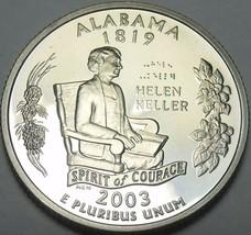 Camée Preuve 2003-S Alabama État Quarts ~ Nous Avoir Chaque - $5.57