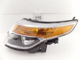 Oem Headlight Head Light Lamp Headlamp Ford Explorer 11-15 Chip Top Mount - $84.15