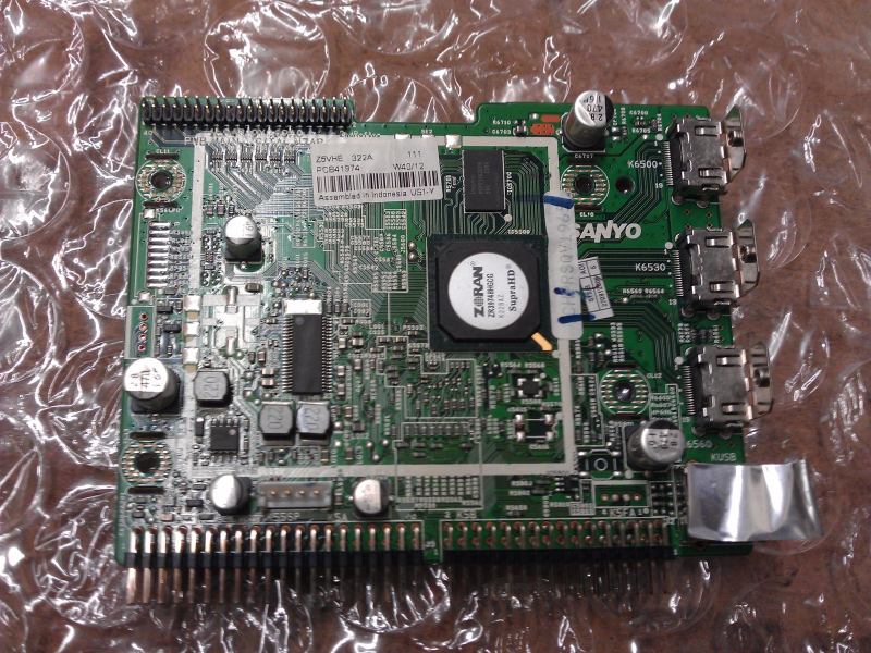 1LG4B10Y069A0 Z5VHE Digital Main Board From Sanyo DP42841 P42841-05 LCD TV