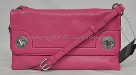 MARC By Marc Jacobs M0007689 Twilo Crossbody / Shoulder Bag in Bright Rosa-Pink - $149.00