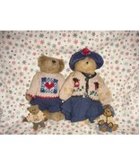 Boyds Bears 1996 Fall Bailey And Matthew Plush & Ornament Set - $39.99