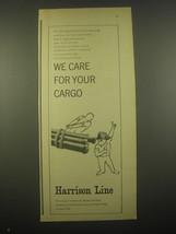1966 Harrison Line Ad - $14.99