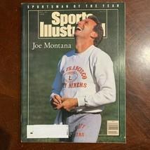 Sports Illustrated Vintage Joe Montana Sportsman of the Year Dec 24 1990... - $4.95