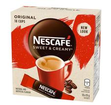 NESCAFÉ Sweet & Creamy Original, Instant Coffee Sachets (18 x 19 g) - $19.97