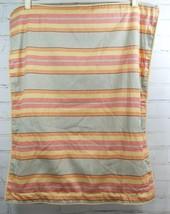 Ralph Lauren RHYS STRIPE (Faded red yellow orange gray)  STANDARD PILLOW... - $24.74