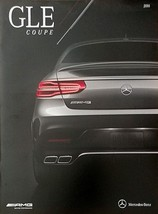 2016 Mercedes-Benz GLE COUPE brochure catalog US 16 430 AMG 63 S HUGE - $12.00