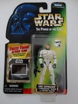 1997 Star Wars POTF Luke Skywalker Stormtrooper Freeze Frame Action Slide Figure - $15.00