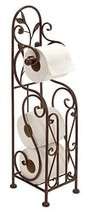 Free Standing Toilet Paper Holder Roll Stand Ba... - $43.34