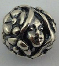 Authentic Trollbeads Sterling Silver Thumbelina Bead Charm 11408, New - $29.01