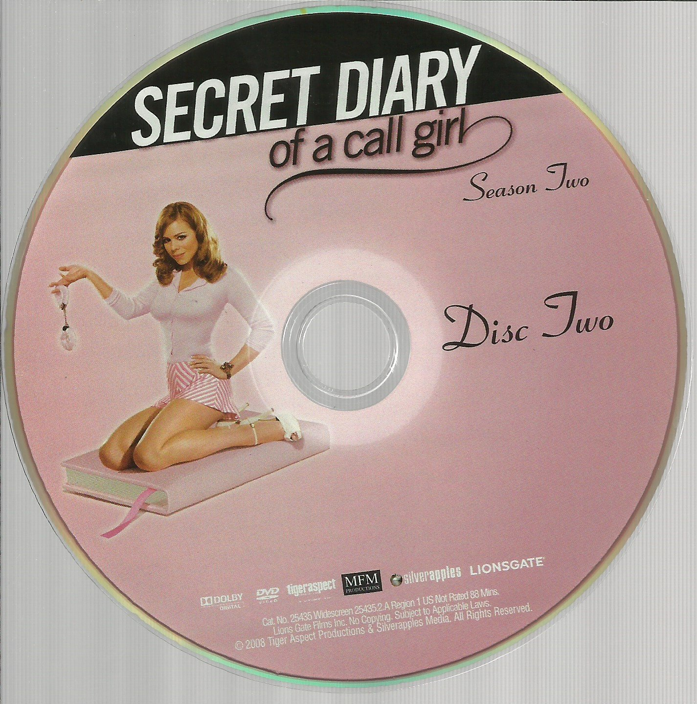 Secret Diary Of A Call Girl Season 2 Disc 2 Replacement Disc! Dvd