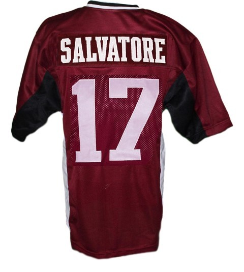 Stefan Salvatore #17 Vampire Diaries New Men Football Jersey Maroon Any Size