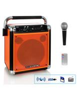 Trexonic Wireless Portable Party Speaker with USB Recording, FM Radio & ... - $107.11