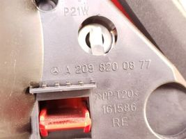 06-09 Mercedes W209 CLK350 CLK500 CLK55 AMG Taillight Lamp Passenger Right - RH image 7