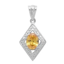 Oval Shape Yellow Cubic Zirconia Gemstone 925 Sterling Silver Women Halo... - $34.73