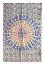 "Mandala Circle 40"" X 30"" Poster Size Tapestry Decorative Indian Dorm Decor - $14.90"
