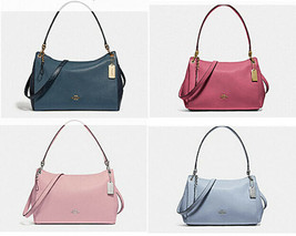 COACH Small Mia satchel Shoulder Bag tote leather f72695 F73196 F28966 - $106.92+