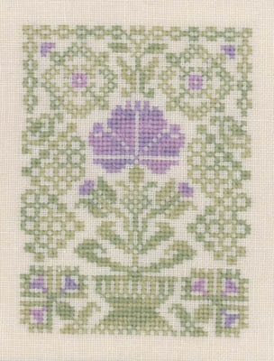 Primary image for Easter Flower cross stitch chart Elizabeth's Designs