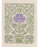Easter Flower cross stitch chart Elizabeth's Designs  - $5.40