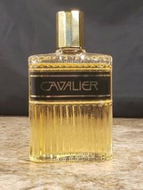 Avon Cavalier 3 OZ After Shave Decorative Glass Bottle 90% Full  - $19.38