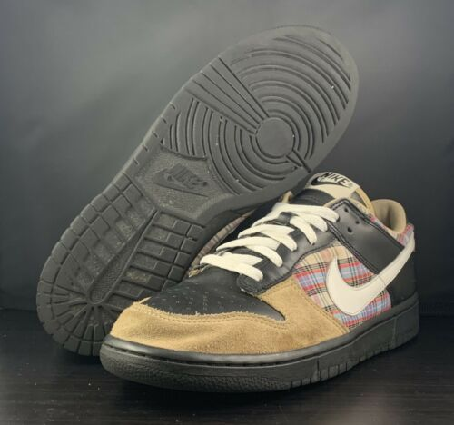 huge selection of 0769c 74fb3 2006 Nike Sb Dunk Low Cl Plaid Flannel Black and 50 similar items. 12