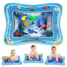 Novelty Place Baby Water Play Mat Tummy Time - Inflatable Splashing Playmat - $10.84