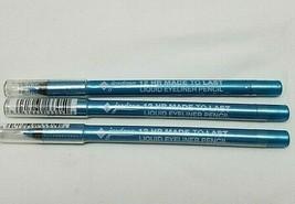 Jordana 12 HR Made To Last Liquid Eyeliner Pencil Aqua Stone 05 Lot Of 3 - $9.89