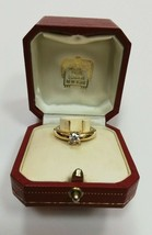 Authentic Cartier 0.50ct Supreme purity Diamond in 18k gold Love engagement ring - $3,797.99