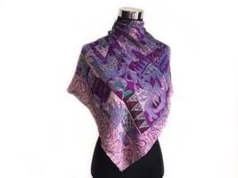 Glentex Neck scarf wrap special occasion Gold Metallic Zebra design new