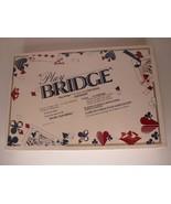 1989 Play Bridge Board Game --Factory Sealed -- 'Play Bridge at First Si... - $52.75