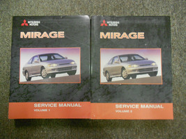 2002 Mitsubishi Mirage Service Repair Shop Manual Set 2 Vol Factory Oem Book X - $287.05