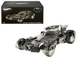 Hot Wheels Dawn of Justice Batmobile From Batman vs Superman Movie Elite... - $180.17