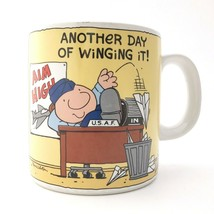 Vintage Ziggy Coffee Mug Air Force Humor Cup USAF Another Day of Winging... - $19.31