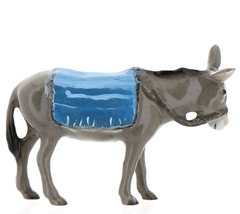 Hagen-Renaker Specialties Ceramic Nativity Figurine Donkey with Blanket image 10
