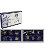 2001-S Proof Set United States US Mint Original Government Packaging Box... - $16.99
