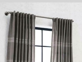 Threshold French Pipe Curtain Rod - Nickel (36-66), Nickle - $27.99