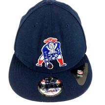 New England Patriots Retro Logo Snapback Baseball Cap Hat New Era 9Fifty - ₹1,379.53 INR