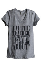 Thread Tank Im The Teacher That The Kids From Last Year Warned You About! Women' - $24.99+