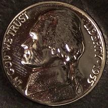 1955 Proof Jefferson Nickel Low Mintage #0449 - $9.99