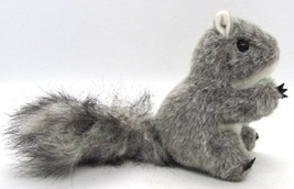 "Folkmanis Gray Squirrel Finger Puppet #2648 Mini Squirrel 4 1/2"" tall Bu... - $12.34"