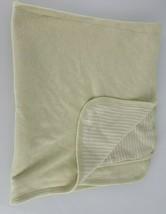 "Baby Gap Green White Cotton Stripe Blanket 28"" x 31"" - $79.19"