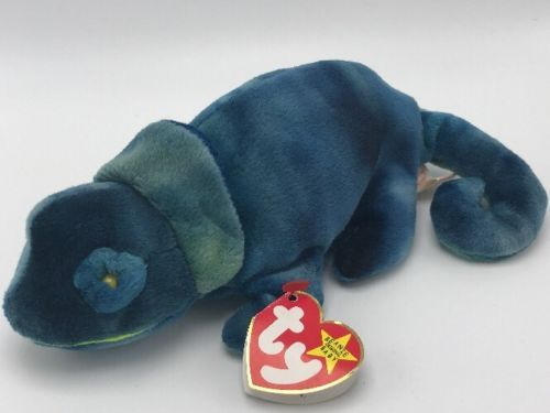 e7def3c1db5 Ty Beanie Babies Rainbow Blue Chameleon 1997 and similar items. 12