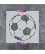 Soccer Ball Stencil - Durable & Reusable Mylar Stencils - $5.99+